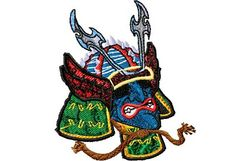 Stickmotiv Samurai-Helm / Samurai-Helmet - EMB-NY792