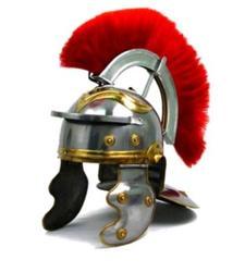 Römischer Centurio Helm mit roter Crista CH6155