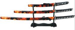 Samurai Schwerter Set Beni 100_KR10