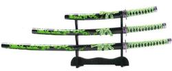 Samurai Schwerter Set Unokubi Zukuri 100_KR12