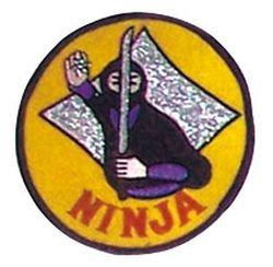 Stickabzeichen Ninja Semban