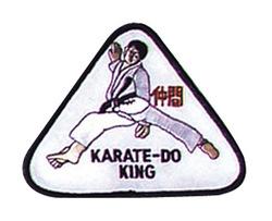 Stickabzeichen Karate-Do-King