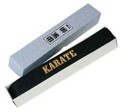 Budogürtel aus Satin mit Bestickung Karate