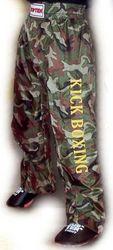 Kickboxhose TOP TEN Camouflage