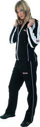 Jogging-Anzug TOP TEN für Damen, schwarz