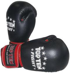 Boxhandschuh  FIGHT schwarz 10oz