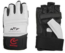 TKD-Handschuhe WTF approved weiß