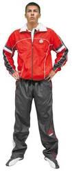 Trainingsanzug Hayashi rot-schwarz