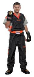 Kickboxuniform TopTen Neon Limited, schwarz/orange