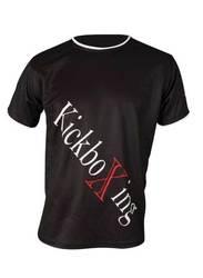 T-Shirt TopTen Kickboxing, schwarz