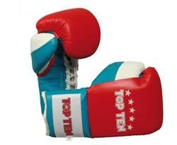 Boxhandschuh Profi TopTen 2013, rot/weiß/blau