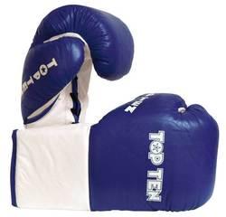 Boxhandschuh TopTen Pro Rosshaar, blau