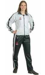 Trainingsanzug Hayashi weiß-schwarz