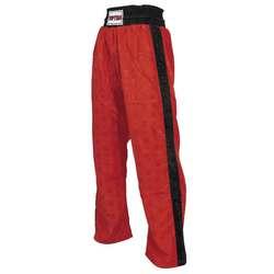 Kickboxhose TopTen Classic, Rot-Schwarz