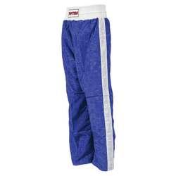 Kickboxhose TopTen Classic, Blau-Weiß