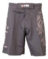 TopTen MMA Shorts Dragon, Schwarz-Lila