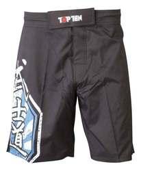 TopTen MMA Shorts Sunrise, Schwarz-Blau