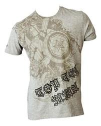 T-Shirt TopTen MMA Shield, Grau