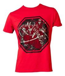 T-Shirt TopTen MMA Samurai, Rot