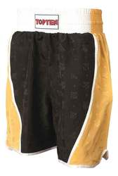 Boxing Shorts TopTen Champ, Schwarz-Gold