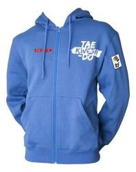 Kapuzenjacke TopTen Taekwondo ITF, Blau