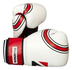 Boxhandschuh Manus Standard, Weiß
