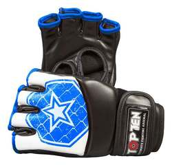 Ultimate Fight Gloves TopTen MMA Octagon, Blau