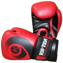 Boxhandschuh TopTen Red Whirl WCS, Rot