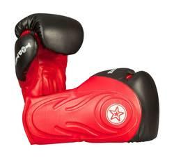 Box- und Sparringshandschuh TopTen Hero, Rot-Schwarz