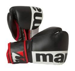 Boxhandschuh Manus 2color, Schwarz-Weiß