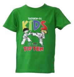 T-Shirt TopTen ITF Kids, Grün