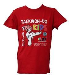 T-Shirt TopTen ITF Kids, Rot