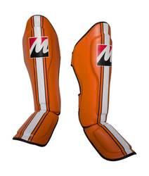 Schienbein- und Spannschutz Manus Edition Orange
