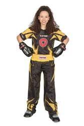 Kickboxuniform TopTen Future, Schwarz-Gelb
