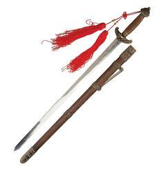 Tai Chi Schwert 100 cm Holzscheide