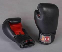 Boxhandschuhe schwarz/rot
