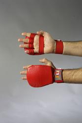 Ju-Jutsu Handschutz rot
