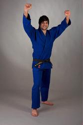 Judoanzug Akita blau