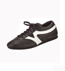 Matten-Schuhe Korea schwarz