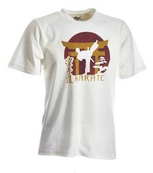 Karate-Shirt Torii weiß