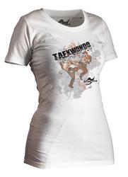 Taekwondo-Shirt Matsogi weiß Lady