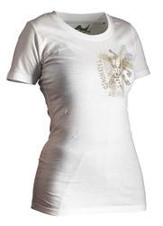 Lady Taekwondo Shirt Trace weiß Lady