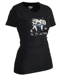 Lady Ju-Jutsu-Shirt Artist schwarz