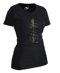 Lady Ju-Jutsu-Shirt Classic schwarz