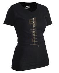 Lady Taekwondo-Shirt Classic schwarz