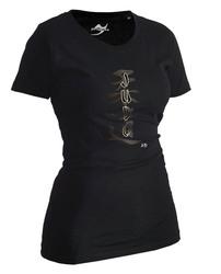 Lady Judo-Shirt Classic schwarz