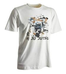 Ju-Jutsu-Shirt Artist weiß