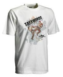 Taekwondo-Shirt Matsogi weiß