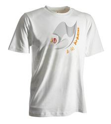 Ju-Jutsu-Shirt Moiré weiß