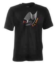 Judo-Shirt Moiré schwarz